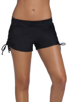 黑色女式宽松泳裤