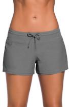 灰色女式宽松泳裤