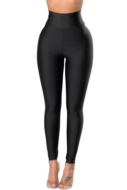 黑色高腰提臀显瘦紧身打底裤
