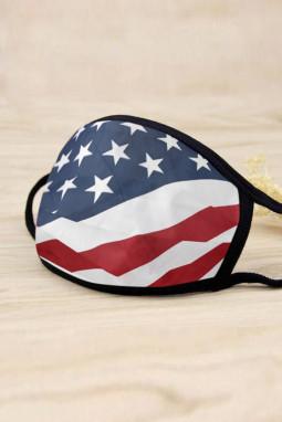 美国星条纹可水洗非一次性透气舒适口罩