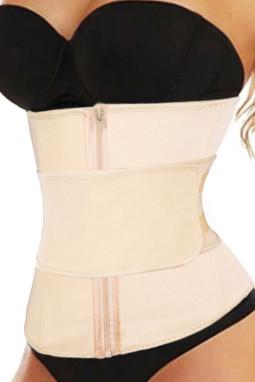 腰部训练6根钢骨氯丁橡胶束身衣