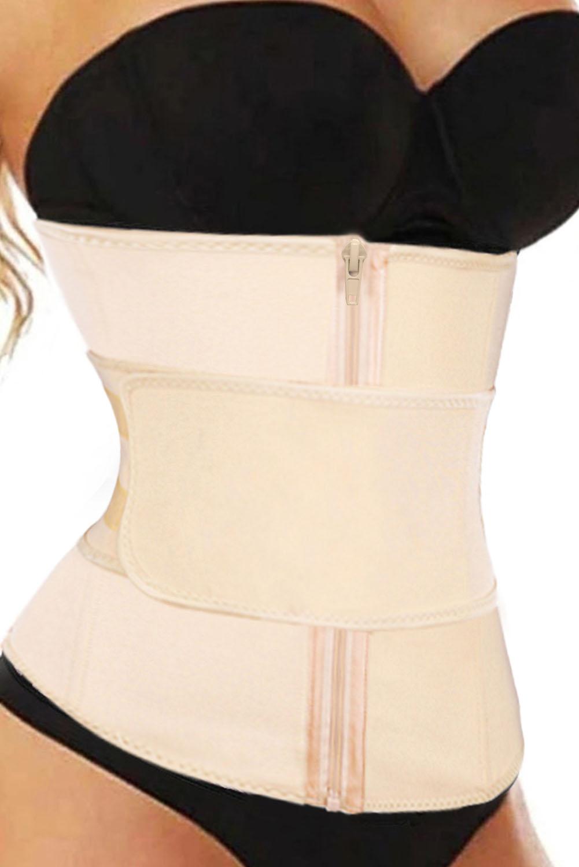 腰部训练6根钢骨氯丁橡胶束身衣 LC51056