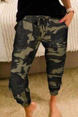 经典迷彩运动休闲裤