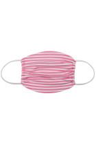 粉色条纹印花日常防护可洗口罩