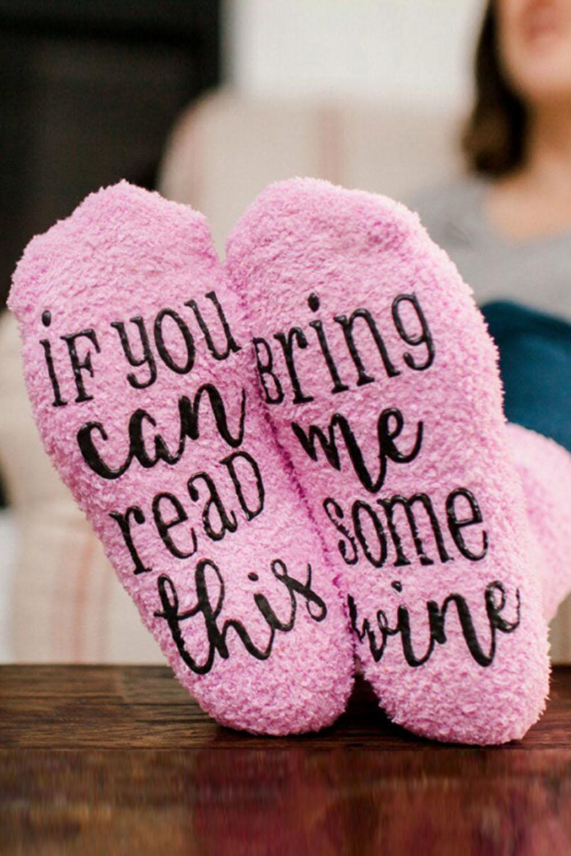 字母印花可爱粉色棉袜 LC09073