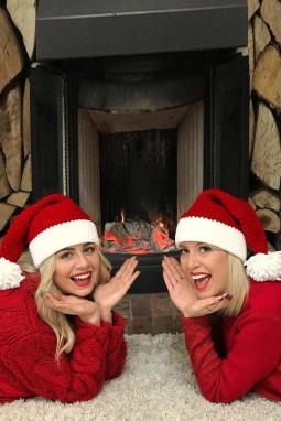 红色圣诞老人针织帽