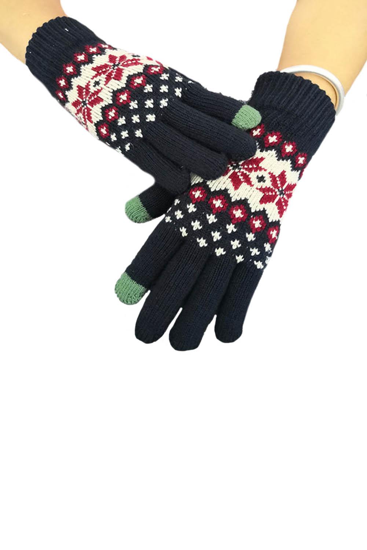 时髦可爱针织手套 LC002012