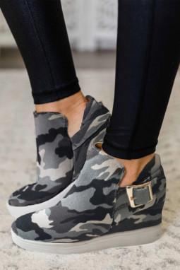 迷彩运动休闲鞋