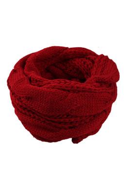红色经典时尚针织围巾