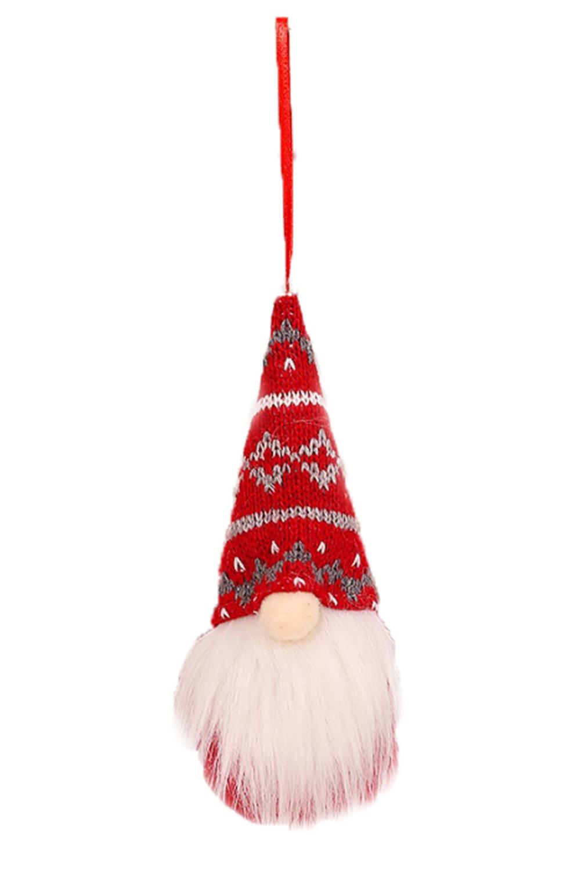 红色圣诞节小矮人圣诞树装饰品 LC01567