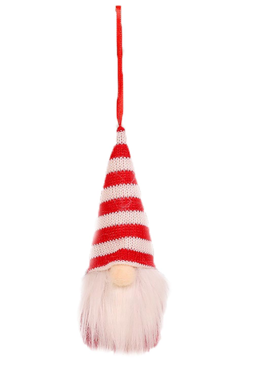 条纹圣诞节小矮人圣诞树装饰品 LC01567