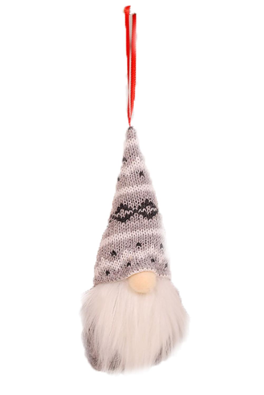 灰色圣诞节小矮人圣诞树装饰品 LC01567