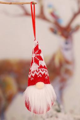 经典圣诞节小矮人圣诞树装饰品