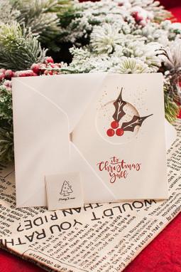 可爱图案圣诞节贺卡