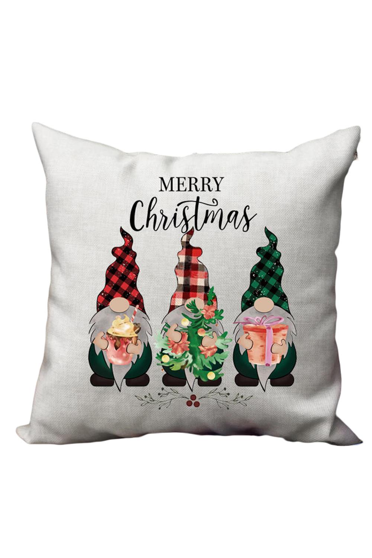 可爱圣诞矮人抱枕套 LC06091